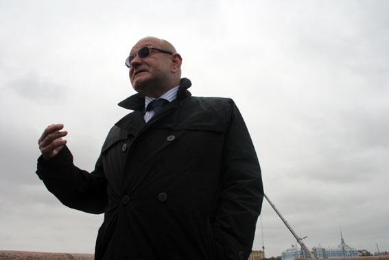 Мурашов Борис Михайлович, председатель Комитета по развитию транспортной инфраструктуры Санкт-Петербурга