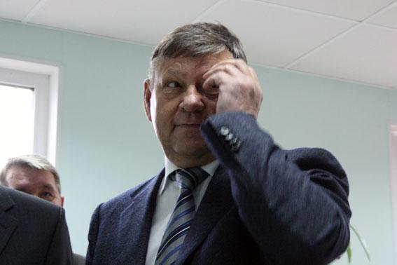 Валерий Сердюков, губернатор Ленинградской области